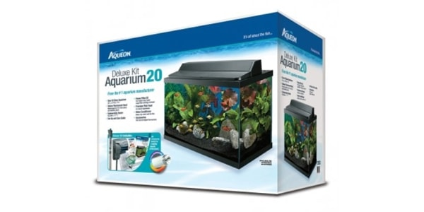Aqueon Deluxe Kit 20 Gallon Aquarium