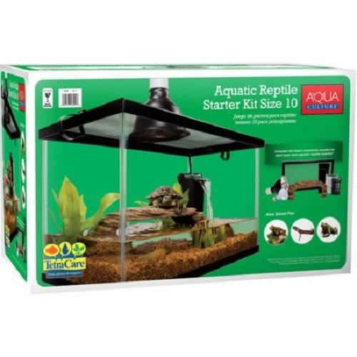 10 gallon turtle tank - Aqua Culture Reptile Kit